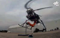 Mini Helicopter with Robotic Arm