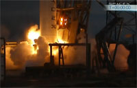 SpaceX Engines Ignite in Aborted Launch
