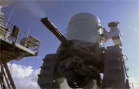 Phalanx CIWS Takes Out Threats
