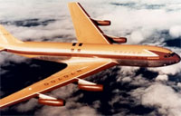 Boeing 707 Does Barrel Roll (1955)