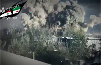 al Nusra Blows Up Building Full of SAA