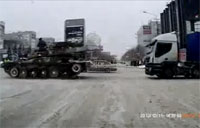 Towing Big Rigs, Russian Style