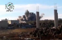 Regime Helicopter Bombs Dara City