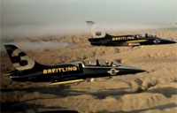 Breitling Jets Over Great Wall of China
