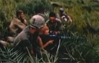 Machine Gun Mowing in Vietnam