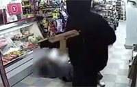 Goons with Gold AK-47 Rob Store