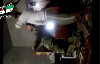 Syrian Soldiers Go Nuts On Drugs