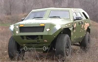 Army's Fuel Efficient Bravo Vehicle