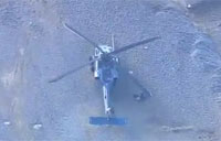 Aerial View of Pave Hawk Crash Site