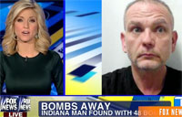 Driver Pulled Over with 48 Bombs