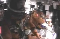 Final Moments of Shuttle Columbia