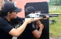 Police Drill On How Not to Shoot