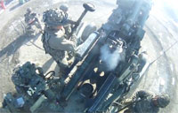 Spartan Live Fire in Afghanistan