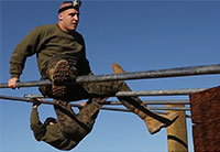 Welcome to the USMC Obstacle Course