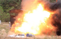 Claymore Anti-personnel Mine Test