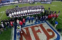 Academy Choirs Rock National Anthem