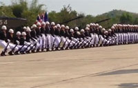 Thai Military Performs with Precision