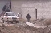 FSA Rebels Take Heavy Artillery Fire