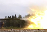 T-90 Tank Firing at 18,000 FPS