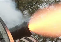 Amazing 18th Century Cannon Live Fire