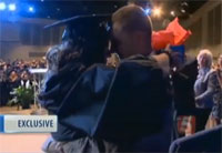 Soldier Shocks Wife at Graduation Ceremony