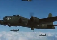 B-17 Flying Fortress Bombing Mission
