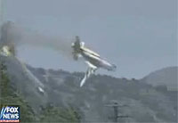 C-130 Tanker Loses Wings & Crashes