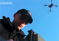 'Moth' Drone Stays Steady in Wind