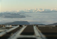 Amazing Alaska Scenery from a C-17