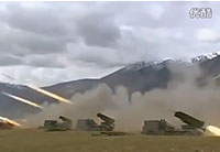 China PLA Live-Fire Exercise