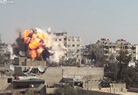 Syrian Army Facility Attacked with VBIED