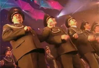 Crazy Russian Army Sings 'Crazy Music'