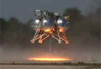 Morpheus Completes Fifth Free-Flight