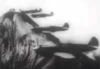 Allies Bomb Japanese in South Pacific