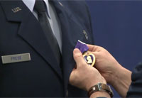 Army Chaplain Receives Purple Heart