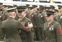 Marines Receive Silver, Bronze Stars