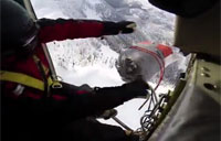 Controlled Avalanche Helicopter Bomb!