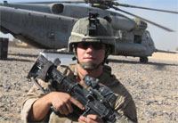 Marine Who Dove on Grenade Receives MoH