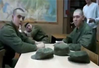 Russian Soldier Falls for Spoon Prank
