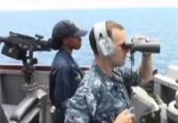 Navy Searches for MH370 from USS Kidd