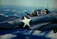 Battle of Midway Color Footage
