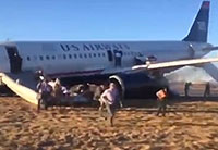 Airbus 320 Aborts Takeoff in Philly