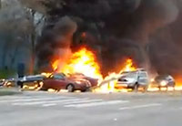 Seattle News Helicopter Crash Aftermath