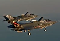 F-35B STOVL Mode Formation Flight