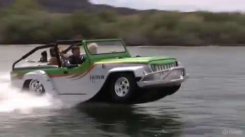 WaterCar Panther - Amphibious Jeep | Military.com