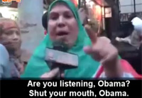 Egyptian Woman's Message to Obama