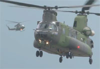 CH-147F Chinook Heavy-Lift Helicopter