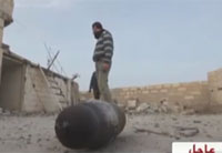 Syrian Shot-Put Champ Throws Bombs