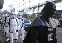 Darth Vader Storms Ukraine Justice Ministry