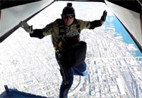 Fly with Navy SEALs into Petco Park